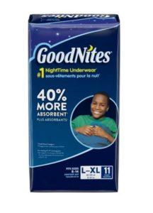 Target: GoodNites Underwear Only $4.99!