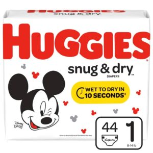 Huggies Snug and Dry Diapers Only $4.49 at Kroger!