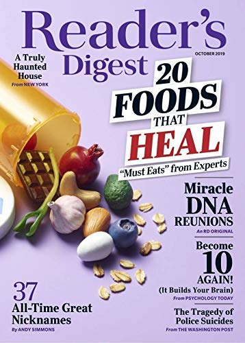 RUN!! 1-Year Reader's Digest Subscription Only $3.75 – $0.37/Issue! Great Gift Idea!!