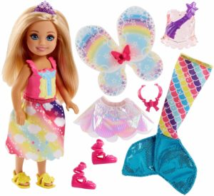 Barbie Dreamtopia Rainbow Cove Chelsea Doll And Fashions Set Only $8.29!