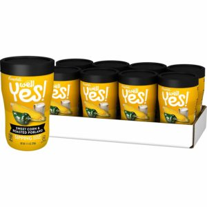 Campbell's Well Yes! Sipping Soup, Sweet Corn & Roasted Poblano (Pack of 8) as low as $7.09 Shipped!