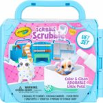 Crayola Scribble Scrubbie Pets Vet Animal Toy Set Only $8.09! Lowest Price!