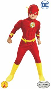 DC Comics Deluxe Muscle Chest The Flash Child's Costume as low as $16.24!