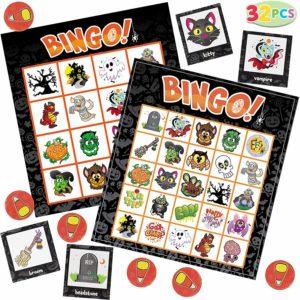 Halloween Bingo Cards 32 Ct. Only $8.99!