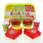Hamburger Fast Food Play Food Set Only $8.99!