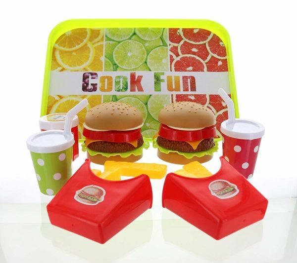 Fast Food Play Food Set