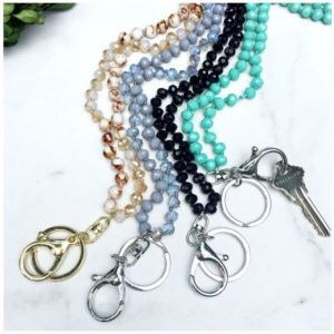Hand Knotted Bead Lanyard was $19.99, NOW $7.99!