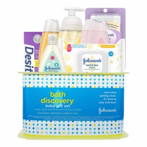 Johnson's Bath Discovery Baby Gift Set – $15.38 – Best Price!