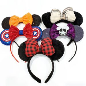 Magical Character Headbands + Clips Only $4.99!