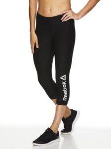 Reebok Women's Quick Capri Branded Leggings – $9.99 Shipped!