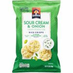 Sour Cream & Onion Quaker Rice Crisps Only $1.59!