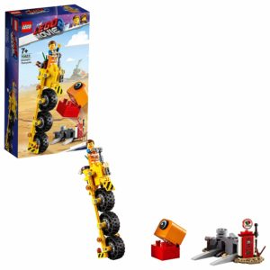 The LEGO Movie 2 Emmet's Thricycle! Three-Wheel Toy Bicycle Action Building Kit Only $8.07! Lowest Price!