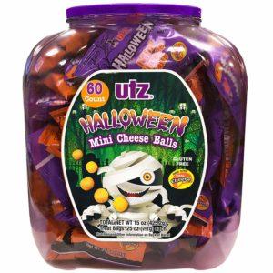 UTZ Halloween Mini Cheese Balls, 60 Count Only $6.98!