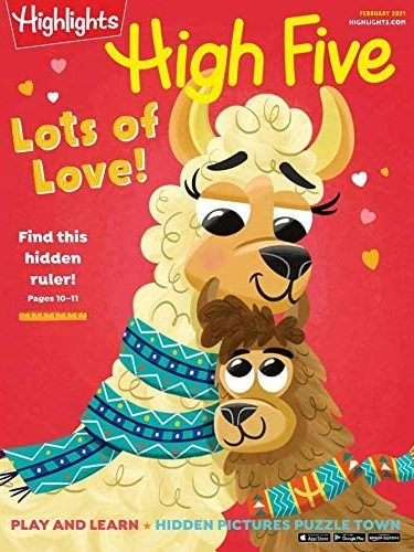Highlights High Five Magazine Subscription Only $5!