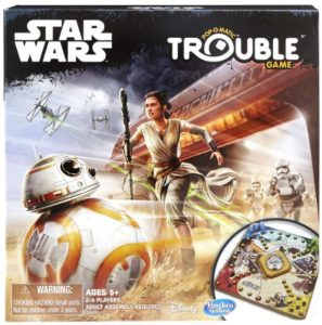 Trouble Game: Star Wars Edition Only $12.99!