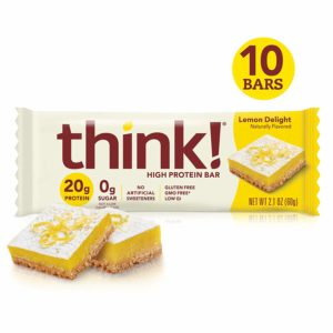 thinkThin think! High Protein Bars – Lemon Delight, 10 count as low as $6.89 Shipped!