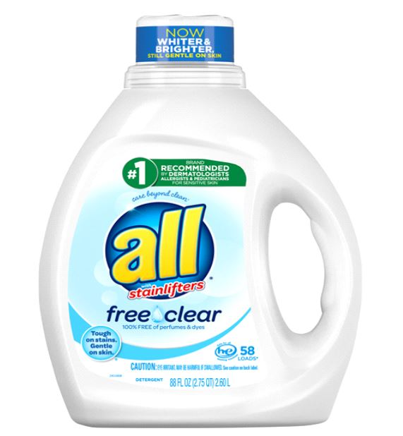 Meijer: All Laundry Detergent 88oz Only $1.99!