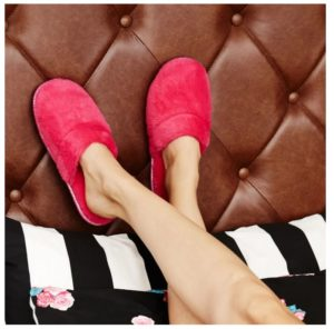 Betsey Johnson Faux Fur Scuff Slippers Only $12.99 Shipped!