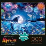 Buffalo Games Marine Color The Dramatic Night 1000 Piece Jigsaw Puzzle Only $9.97!