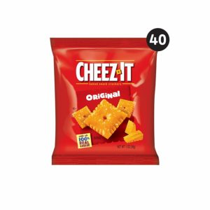 Cheez-It Baked Snack Cheese Crackers, 40 count as low as $7.03 Shipped! ($0.18 each)