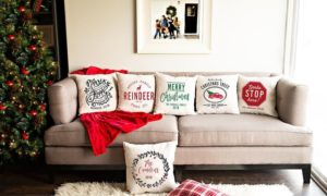 Christmas Throw Pillow Covers Only $5.00!