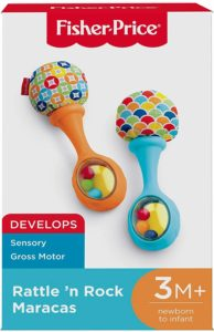 Fisher-Price Rattle 'n Rock Maracas Only $4.89!