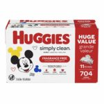 Huggies Simply Clean Baby Wipes, 704 count as low as $11.88!