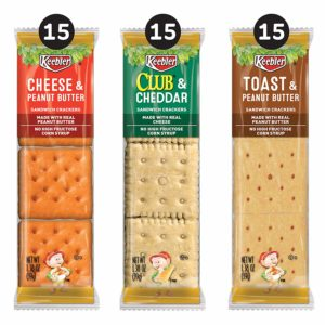Keebler Sandwich Crackers Variety Pack – 45 Packages as low as $6.59 Shipped! ($0.15 each)