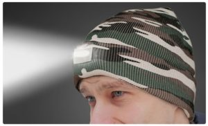 LED Headlamp Beanie | 10 Colors Only $8.99!