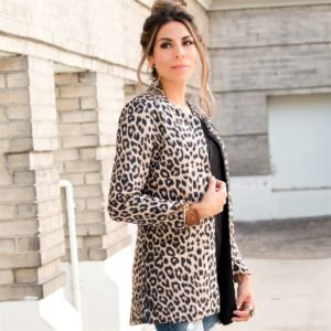 Leopard Blazer Only $33.99 Shipped!