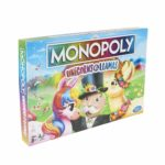 Monopoly Unicorns Vs Llamas Board Game Only $13.99!