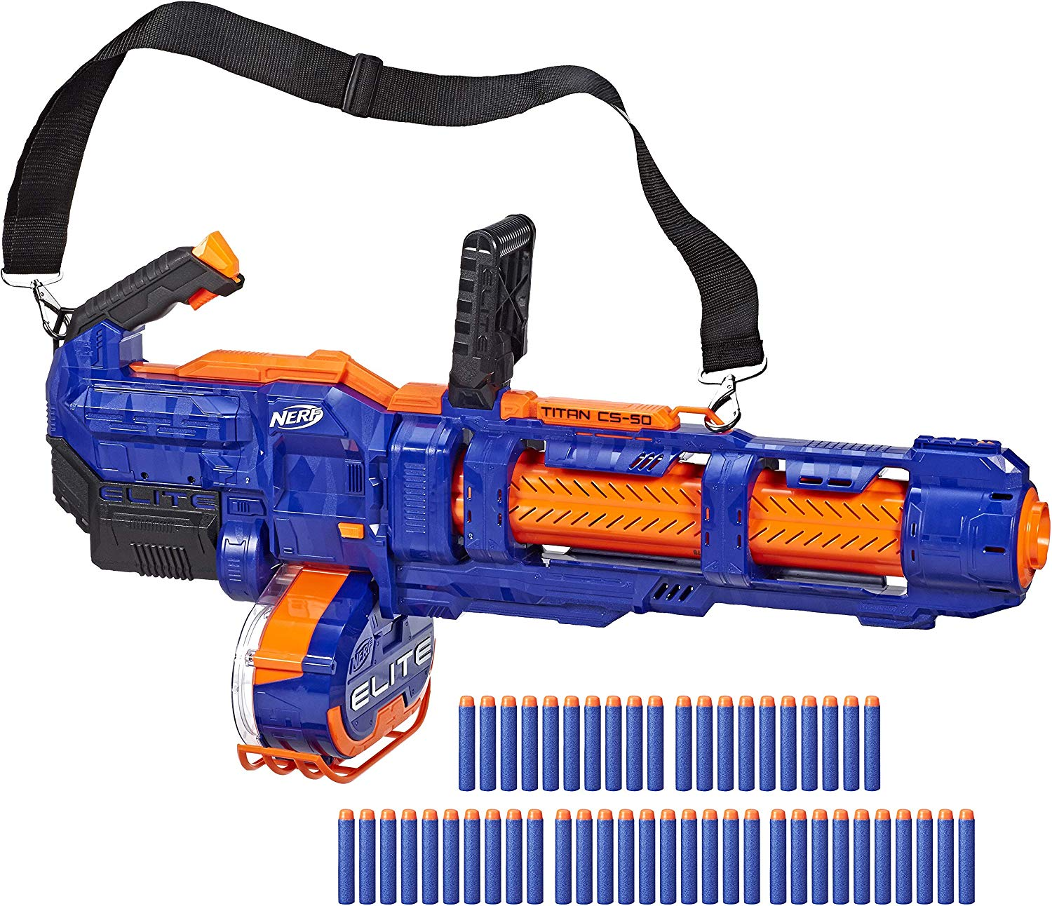 NERF Elite Titan CS-50 Toy Blaster with 50 Darts was $99.99, NOW $49.99 Shipped!