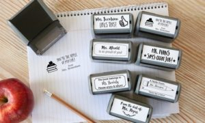 Personalized Teacher's Stamps Only $9.99!