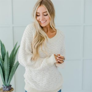 Popcorn Oversized Sweater – 6 Colors – $26.99 Shipped!