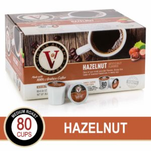 Victor Allen's Coffee Hazelnut Medium Roast K-cups, 80 count as low as $17.65 Shipped! ($0.22/cup)