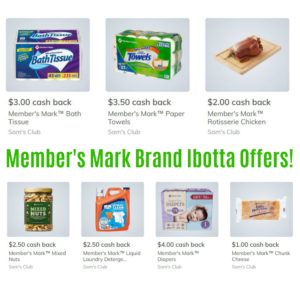 *NEW* Member's Mark Ibotta Deals at Sam's Club!