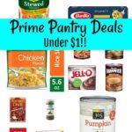 Amazon Pantry Deals Under $1.00! Updated 10/22