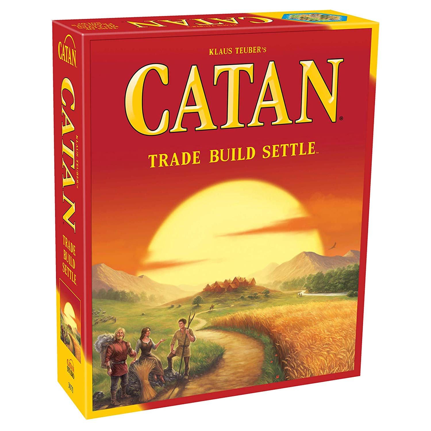 Catan Strategy Board Game Only $24.74! (reg. $49.99)