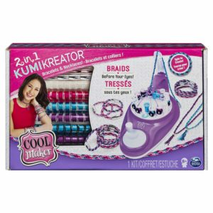 Cool MAKER 2-in-1 KumiKreator Necklace & Friendship Bracelet Maker Activity Kit Only $10.95!! (reg. $24.99)