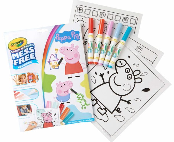 Crayola Color Wonder Peppa Pig Coloring Book Pages & Markers Only $4.75! -  Become A Coupon Queen