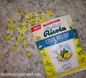 NEW Ricola Cool Relief Drops in Lemon Frost Only $1.46 at Walmart!