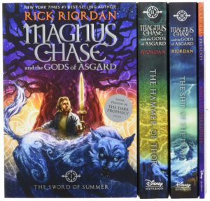 Magnus Chase and the Gods of Asgard Paperback Boxed Set Only $15.39!