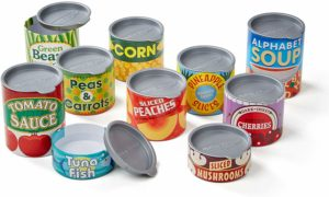 Melissa & Doug Let's Play House! Grocery Cans Only $6.47!