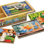 Melissa & Doug Wooden Jigsaw Puzzles in a Box Only $7.99!