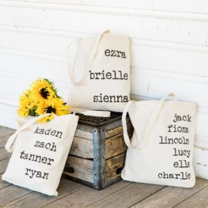 Personalized Names Tote Bag Only $11.99 Shipped! (reg. $29.99)