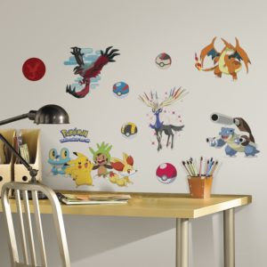 RoomMates Pokemon XY Peel And Stick Wall Decals Only $9.00!