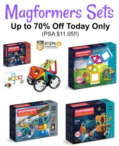 Magformers Toys: up to 70% Off Today Only! (PSA $11.05!!)