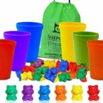 Colorful Counting Bears with Sorting Cups Only $7.64!