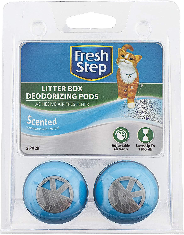 Fresh Step Cat Litter Box Deodorizing Pods as low as $1.88!