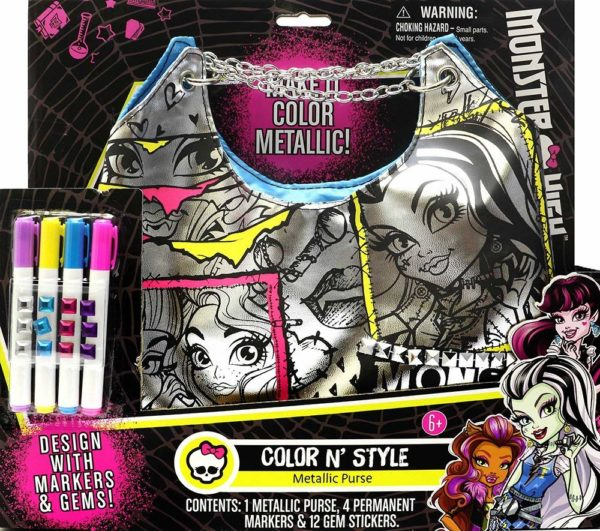 Monster High Color N Style Fashion Tote
